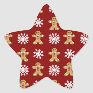 Ginger and Snow Star Sticker