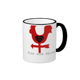 Ginger and Tonic Rise and Shine Rooster Coffee Mug