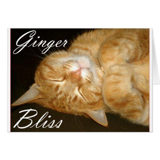 Ginger Bliss Card