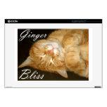 Ginger Bliss Laptop Skins