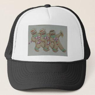 Ginger Bread Cookie Men Trucker Hat