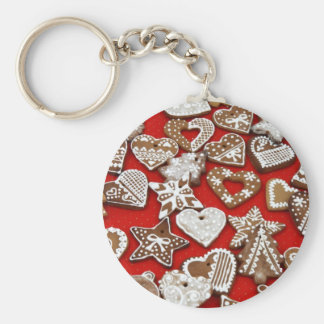 Ginger Bread Cookies Keychains