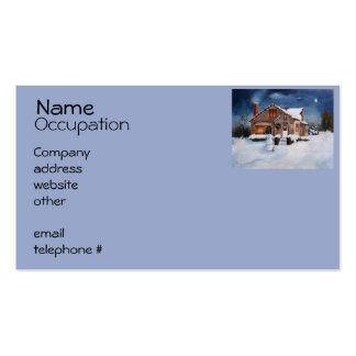 Ginger Bread House Business Card