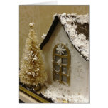 Ginger Bread House Christmas Card Greeting Card