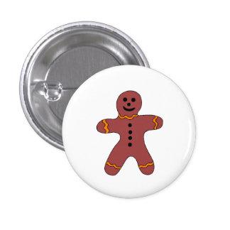 Ginger Bread Man Button