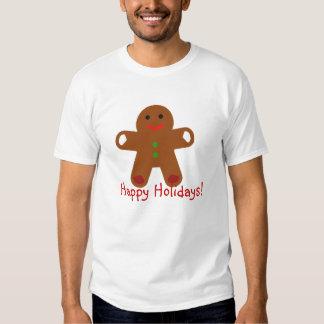 Ginger Bread Man Greeting! Tshirts