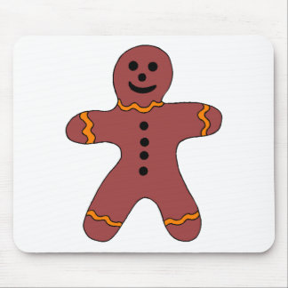 Ginger Bread Man Mouse Pad