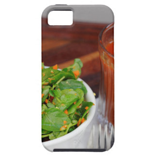 Ginger Carrot Tomato Dressing Watercress Salad iPhone SE/5/5s Case
