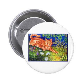 Ginger Cat 2 Inch Round Button