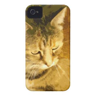 Ginger cat iPhone 4 case