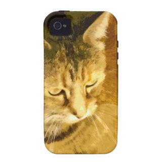 Ginger cat Case-Mate iPhone 4 cases