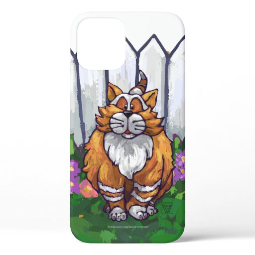 Ginger Cat Electronics iPhone 12 Case
