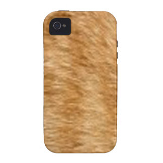 Ginger cat fur iPhone 4/4S cover