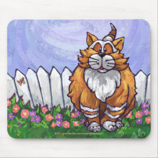 Ginger Cat Gifts & Accessories Mouse Pad