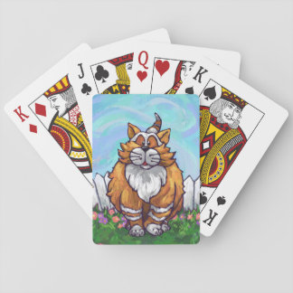Ginger Cat Gifts & Accessories Playing Cards