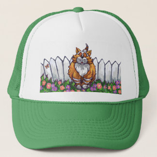Ginger Cat Gifts & Accessories Trucker Hat
