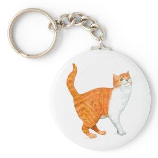 'Ginger Cat' Keychain keychain