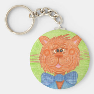 Ginger Cat Keychain