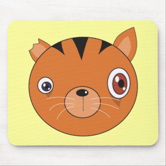 Ginger Cat Mouse Pad
