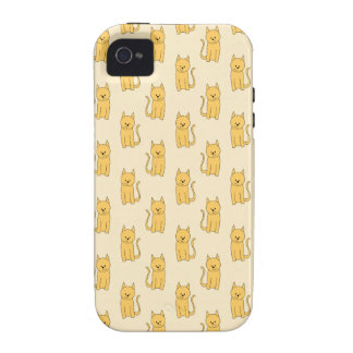 Ginger Cat Pattern. Case-Mate iPhone 4 Covers