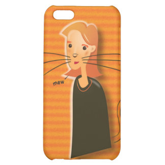 Ginger Cat Speck Case iPhone 5C Cover