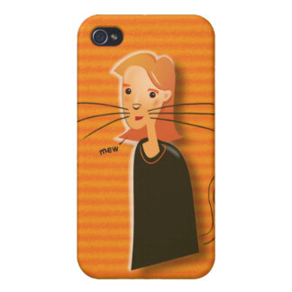 Ginger Cat Speck Case Covers For iPhone 4