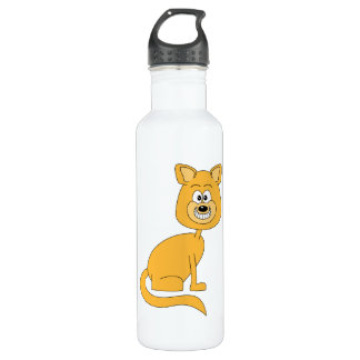 Ginger Cat. Stainless Steel Water Bottle