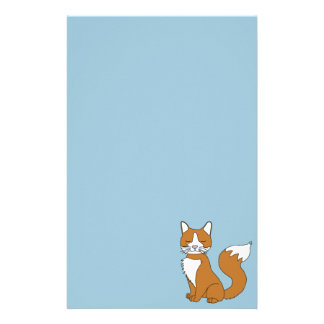 Ginger Cat Stationery