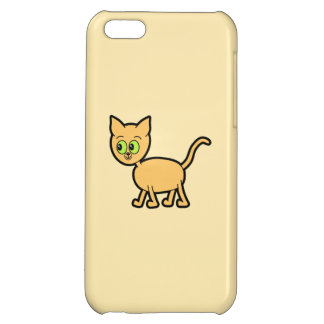 Ginger Cat with Green Eyes iPhone 5C Case