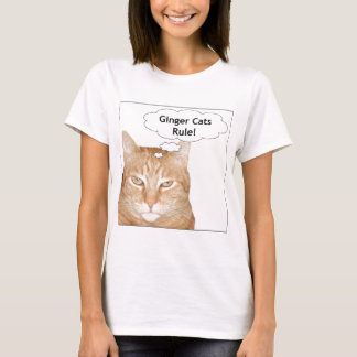 Ginger Cats Rule! T-Shirt