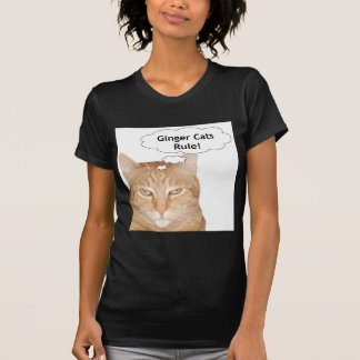 Ginger Cats Rule! Tee Shirts