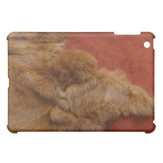 Ginger Che Leather and Fur iPad Case