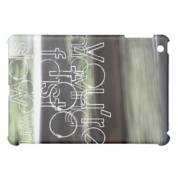 Ginger Che Slow Down iPad Case