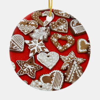 Ginger Cookies and Holiday Goodies Ornament