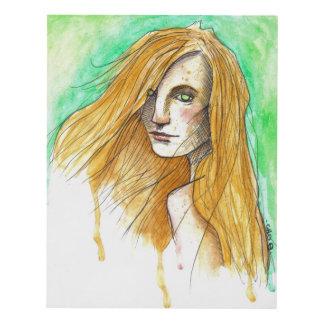 Ginger Cuadro (11x14) Panel Wall Art