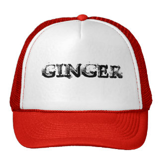 GINGER ELITE TRUCKER HAT