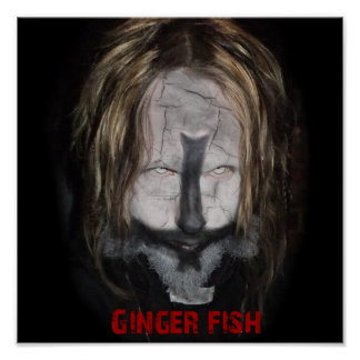 Ginger Fish Priest Poster