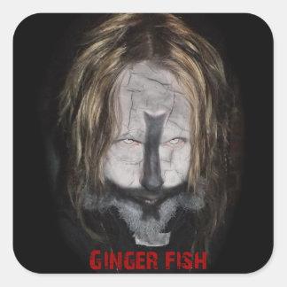 Ginger Fish Priest Sticker