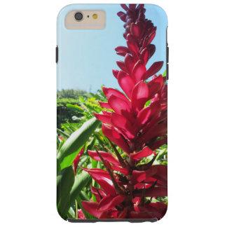 Ginger Flower Tough iPhone 6 Plus Case