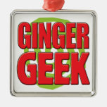 Ginger Geek Christmas Ornaments