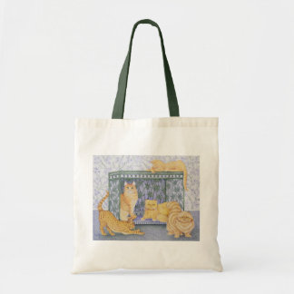 Ginger gentlemen tote bag