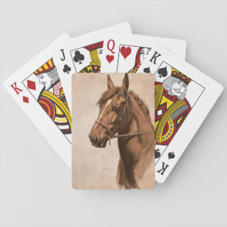 Ginger horse from Black Beauty Book Deck Of Cards