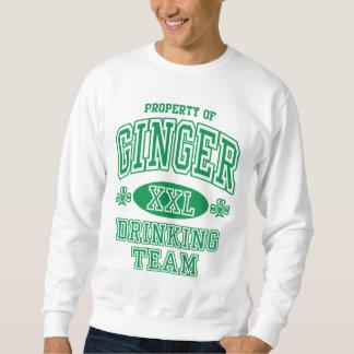 Ginger Irish Drinking Team Sweatshirt