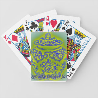 Ginger Jar #3 Bicycle Playing Cards