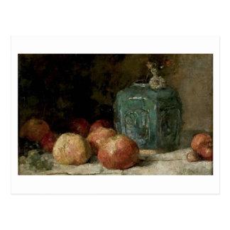 Ginger Jar and Apples, Vincent van Gogh Postcard