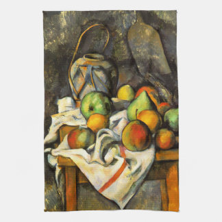 Ginger Jar and Fruit by Cezanne Kitchen Towels