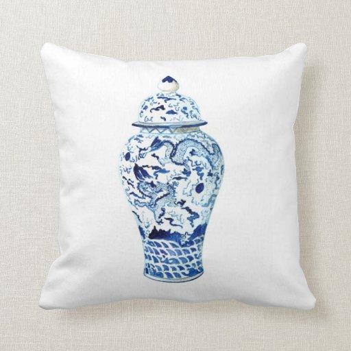 Should I Throw Away Old Pillows : GINGER JAR NO. 6 THROW PILLOW Zazzle