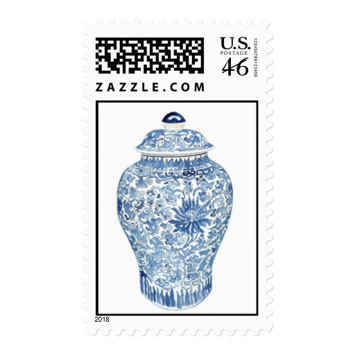 Ginger Jar Stamp by Anne Harwell