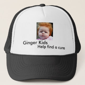 Ginger Kids, Help find a cure Trucker Hat