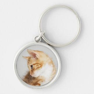 Ginger Kitten Keychain